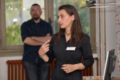 Caroline Grillot, traductrice et biographe de l'entreprise PASSERELLE