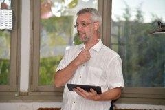 Pascal Belin, le président de l'association Fab'Aux