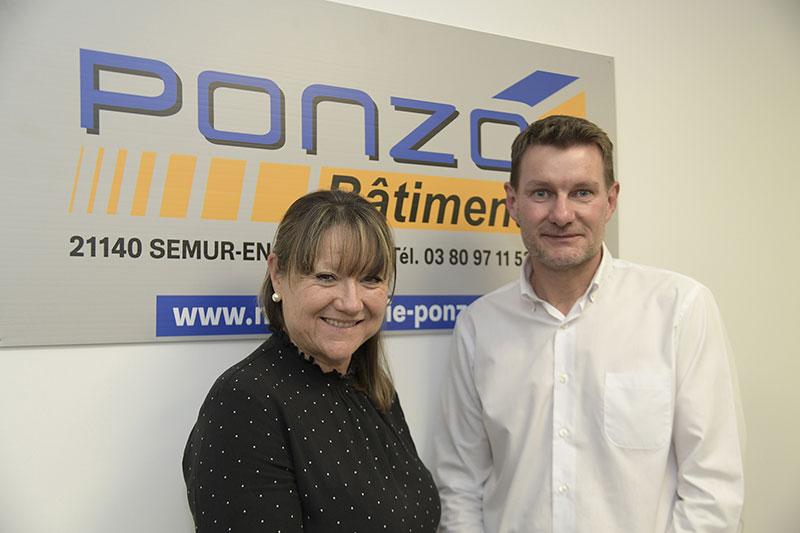 David Ponzo et Jocelyne Jacquet