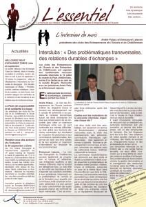 page 1 newsletter essentiel entrepreneurs auxois