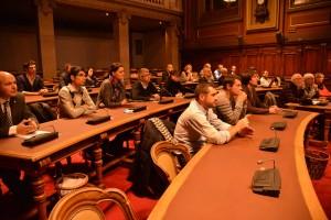 le club des entrepreneurs de l'auxois en visite au conseil général de la cote d'or à dijon