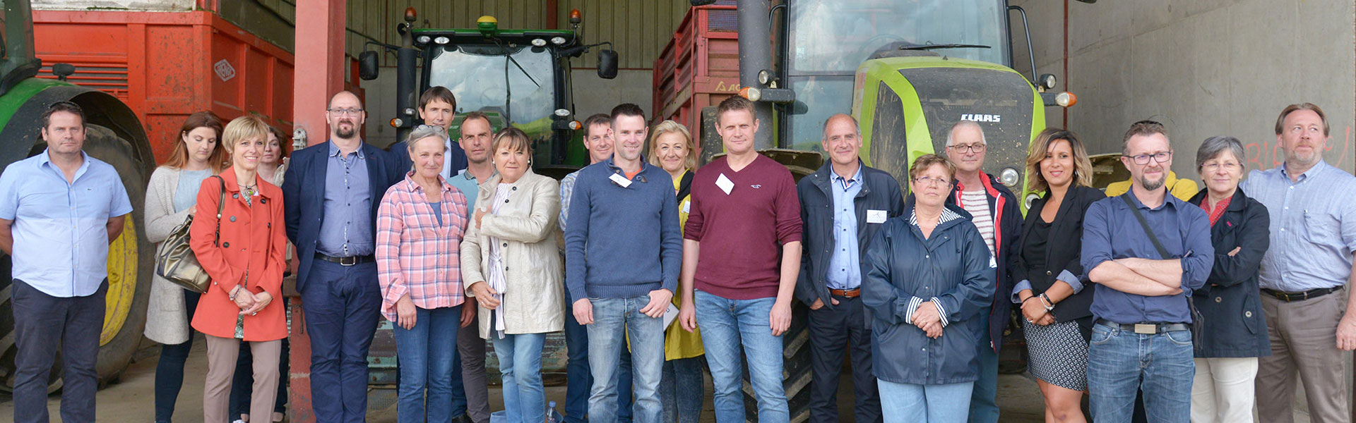 Club des Entrepreneurs de l'Auxois, visite Gaec-LEPY